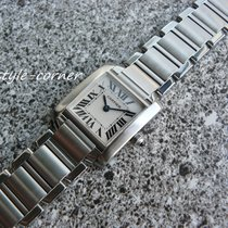 Cartier Tank Francaise Lady - mit Cartier Unterlagen & Box