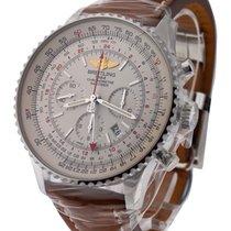 Breitling Navitimer GMT Chronograph in Steel