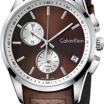 ck Calvin Klein Bold K5A371GK Herrenchronograph Swiss Made