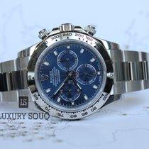 勞力士 (Rolex) ROLEX NEW DAYTONA 40MM BLUE DIAL, WHITE GOLD