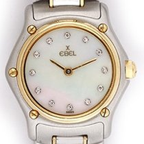 Ebel 1911 Ladies 2-Tone Mother of Pearl Diamond Watch 1057901