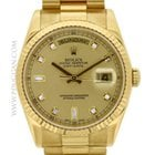 Rolex 18k yellow gold Day-Date