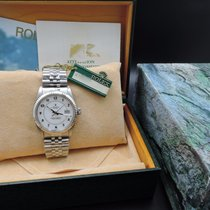 劳力士  (Rolex) DATEJUST 16014 SS Original White Enamel Arabic...
