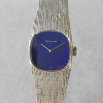 Audemars Piguet 18K White Gold Cal.2085 Ladies  Blue Mineral Dial