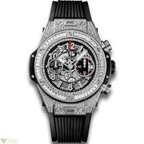 Hublot Big Bang 45 mm Unico 18K White Gold 176 Diamonds with...