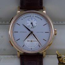 A. Lange & Söhne 385.032   Saxonia Dual Time Rose Gold ...