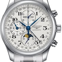 Longines Master Complications L2.673.4.78.6 Stainless Steel...