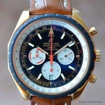 Breitling CHRONOMATIC 49 R14360 18K ROSE GOLD NEW OLD STOCK...