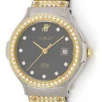 Hublot 1391.2.054 Classic Ladies 28mm in Steel with Yellow...