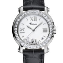 Chopard Happy Sport Stainless Steel & Diamonds Ladies Watch
