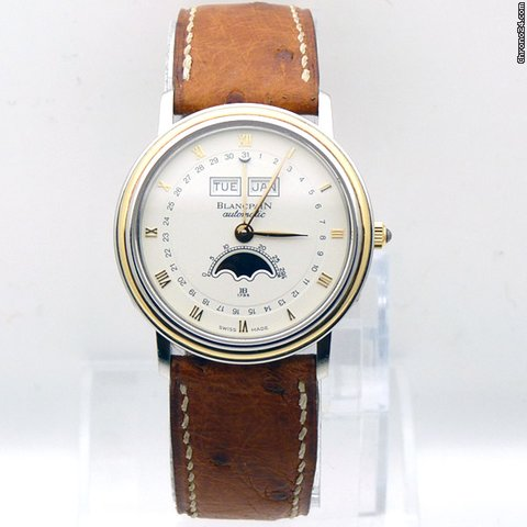 Blancpain Villeret - MoonPhase Steel &amp;amp; Gold Automatic Date