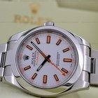 Rolex Milgauss White Dial SS