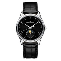 Jaeger-LeCoultre [NEW] Master Ultra Thin Moon Automatic Black...