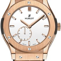 Hublot Classic Fusion Ultra-Thin Silver Dial Hand Wind...