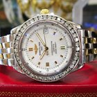 Breitling Callisto B77346 Stainless Steel Gold Diamond ...