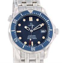 Omega Seamaster James Bond Midsize 300m Watch 2561.80.00 Box Tag