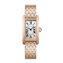 Cartier Tank Americaine Automatic Ladies Watch Ref W2620031