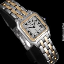 Cartier Panthere Two-Tone Mens Midsize / Unisex Watch, Date -...