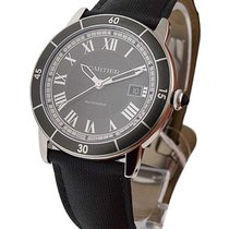 Cartier WSRN0003 Ronde Croisiere Automatic in Steel - on Strap...