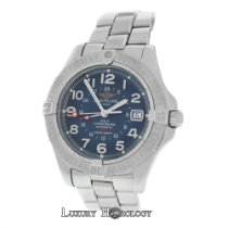 Breitling Men Colt A32350 Steel 500M Date 41mm Automatic...