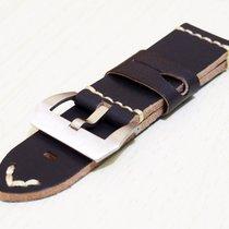 沛納海 (Panerai) New 24 / 26mm Calfskin Leather Strap Replacement...
