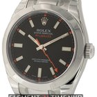 Rolex Milgauss Stainless Steel Black Dial 40mm Ref. 116400