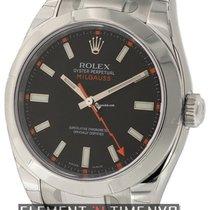 Rolex Milgauss Stainless Steel Black Dial 40mm Ref. 116400