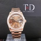 Rolex REDUCTION WHILST IN STOCK Day-Date 36mm Rose Gold Custom...