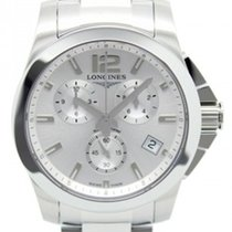 Longines Conquest - Quartz 41mm Chronograph L36604766