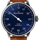 Meistersinger 03 - AM 908 - 43mm - Blue Dial
