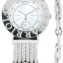 Charriol Charrion St Tropez Mother of Pearl Dial Stainless...