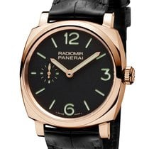 Panerai PAM00575 Radiomir 1940 Red Gold Men's Watch