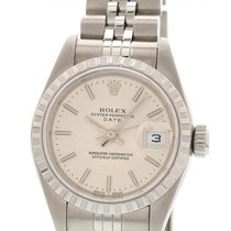 Rolex Ladies Rolex Date Stainless Steel Watch 79240 w/ Papers