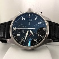 IWC Pilot Chronograph Spitfire Day-Date Steel Deploy Clasp 43 mm