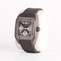 Cartier Santos 100 XL Chronograph Mixto Acero Pavonado / Titanio