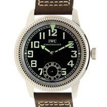 IWC Pilots Stainless Steel Black Manual Wind IW325401