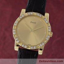 Piaget Lady Dancer 18k (0,750) Gold Damenuhr Ref. 80464 Diamanten