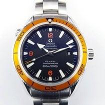 Omega Seamaster Planet Ocean 42mm orange CO-Axial Steel Full Set