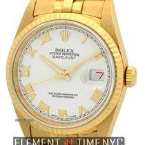 Rolex Datejust Super-Jubilee White Roman Dial Circa 1989 Ref....