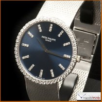 Patek Philippe Ref 3588-7 Dial & Bezel have Diamonds Original