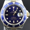 Rolex Submariner Date Bi-Color blue dial