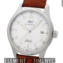IWC Pilot Collection Mark XV Stainless Steel Silver Dial 38mm...
