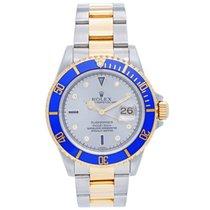 Rolex Submariner Men's 2-Tone Watch 16613
