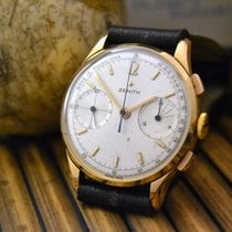 Zenith 146D PULSOMETRIC CHRONOGRAPH WATCH, 18KT SOLID YELLOW GOLD