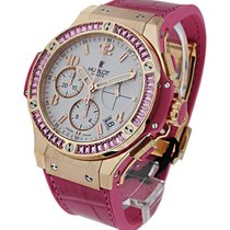 Hublot 41mm Big Bang Pink Carat Sapphire Baguette Bezel
