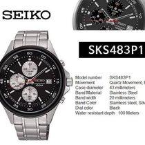 Seiko NEOSPORTS SKS483P1 Quartz Hardlex Crystal