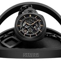 Panerai Black Ceramic Tourbillion Pocket Watch PAM00446
