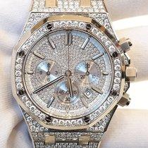 Audemars Piguet Royal Oak Chronograph 41mm Steel Diamond set...