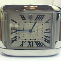 Cartier TANK ANGLAISE LM RG&STEEL AUTO