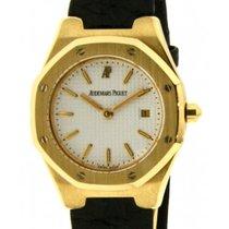 Audemars Piguet Royal Oak Lady Ba66800.o Yellow Gold, Leather,...